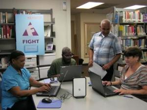 FIGHT Mobile Citizen computer lab