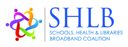 Schools, Health & Libraries Broadband (SHLB) Coalition logo